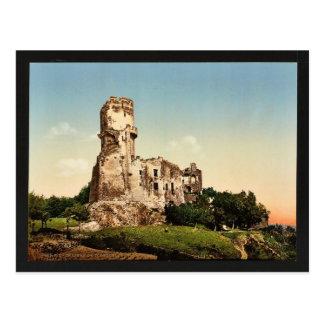 Cartão Postal Castelo de Tournoel, vint de Clermont-Ferrand,