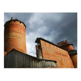 Cartão Postal Castelo de Turaida, Sigulda, Latvia