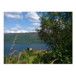 Cartão Postal Castelo de Urquhart, Scotland