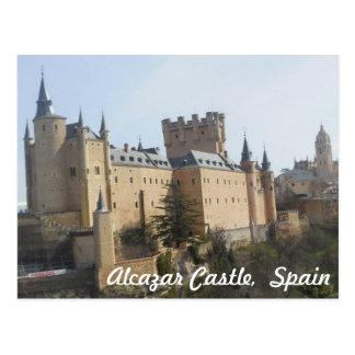 Cartão Postal Castelo do Alcazar de Segovia