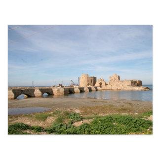 Cartão Postal Castelo do mar de Saida