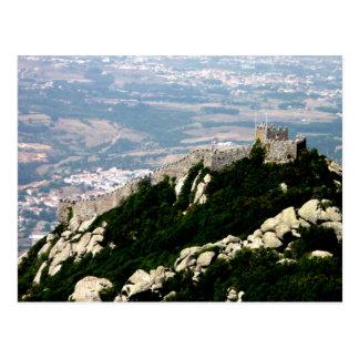Cartão Postal Castelo do Moorish - Sintra