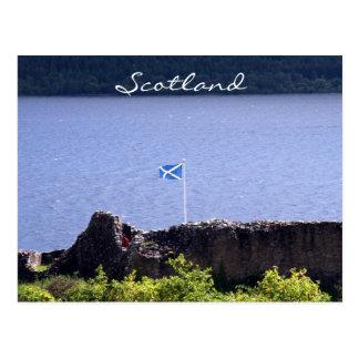 Cartão Postal castelo do urquhart