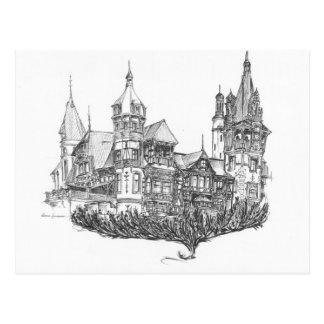 Cartão Postal Castelo do vôo