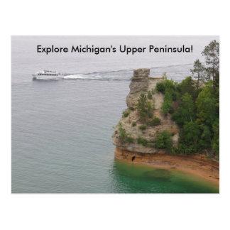 Cartão Postal Castelo dos mineiros da visita na península