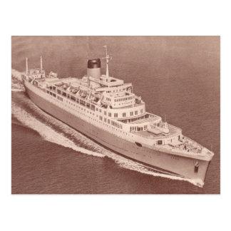 Cartão Postal Castelo dos SS Windsor, linha do castelo da união