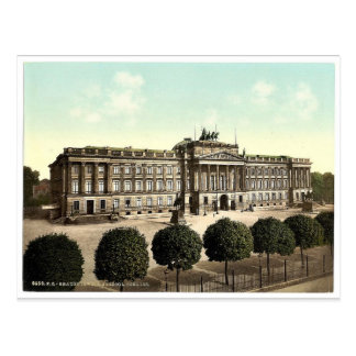 Cartão Postal Castelo Ducal, Brunsvique (isto é, Bransvique),
