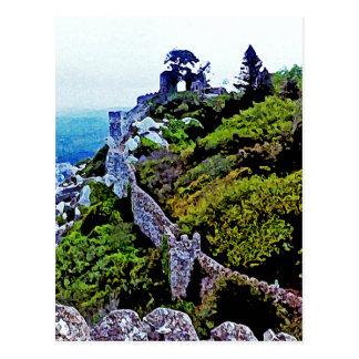 Cartão Postal Castelo em Sintra Portugal