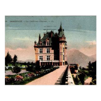 Cartão Postal Castelo francês