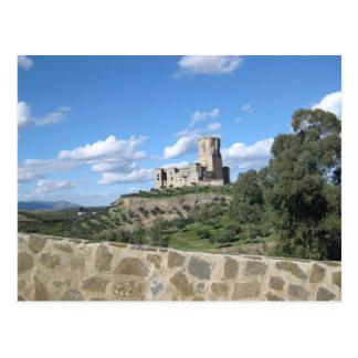 Cartão Postal Castelo na espanha