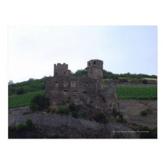 Cartão Postal Castelo no Rhine