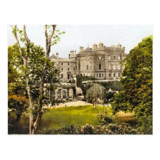 Cartão Postal Castelo Scotland de Culzean do vintage