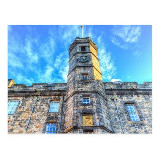 Cartão Postal Castelo Scotland de Edimburgo