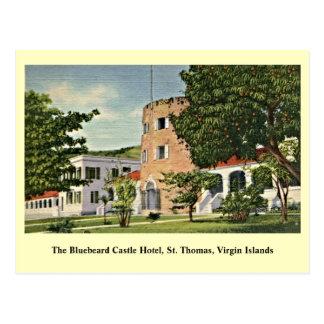 Cartão Postal Castelo St Thomas Virgin Islands do Bluebeard