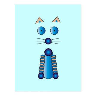 Cartão Postal CAT azul