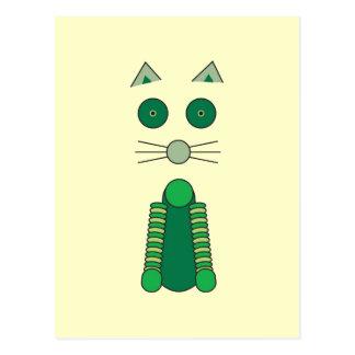 Cartão Postal CAT do irlandês