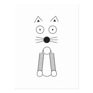 Cartão Postal CAT liso