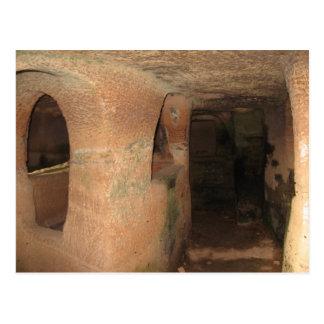 Cartão Postal Catacombs em Malta