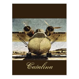 Cartão Postal Catalina 1942