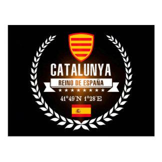 Cartão Postal Catalunya