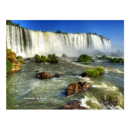 Cartão Postal Cataratas do Iguaçu