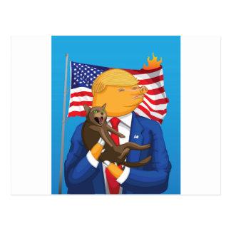 Cartão Postal Catástrofe americana