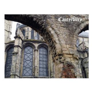 Cartão Postal Catedral - Canterbury