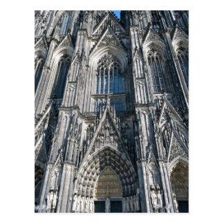 Cartão Postal Catedral da água de Colônia