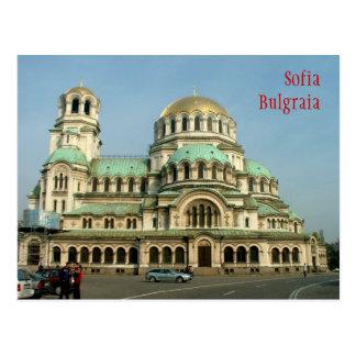 Cartão Postal Catedral de Aleksander Nevsky