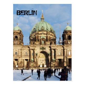Cartão Postal Catedral de Berlim, os DOM 02.2.T do berlinês,