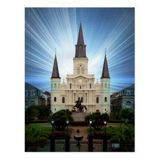 Cartão Postal catedral de brilho