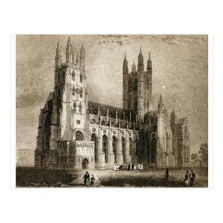 Cartão Postal Catedral de Canterbury