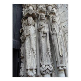 Cartão Postal Catedral de Chartre