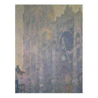 Cartão Postal Catedral de Claude Monet | Rouen, harmonia no