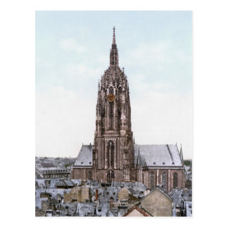 Cartão Postal Catedral de Francoforte