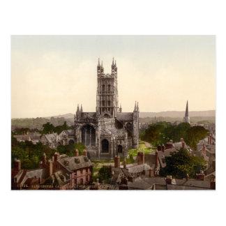 Cartão Postal Catedral de Gloucester mim, Gloucestershire,