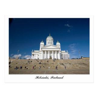 Cartão Postal Catedral de Helsínquia