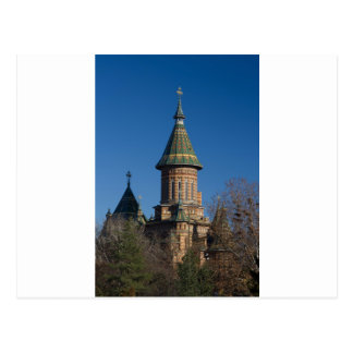 Cartão Postal Catedral de Mitropolitan, Timisoara, Romania