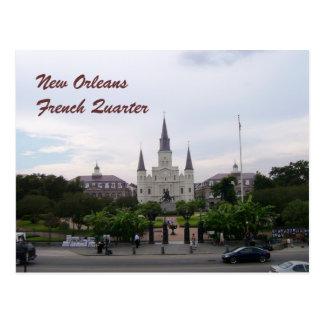 Cartão Postal Catedral de Nova Orleães, Louisiana St Louis