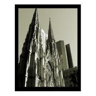 Cartão Postal Catedral de NYC St Patrick