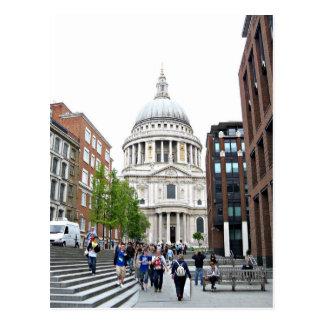 Cartão Postal Catedral de Pauls da rua