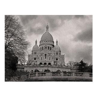 Cartão Postal Catedral de Sacre Coeur