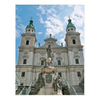 Cartão Postal Catedral de Salzburg