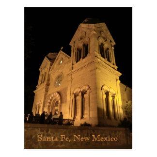 Cartão Postal Catedral de Santa Fé New mexico St Francis