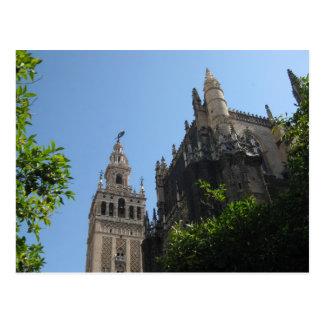 Cartão Postal Catedral de Sevilha