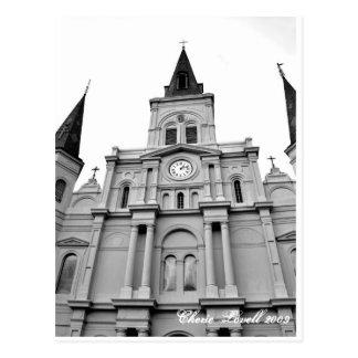 Cartão Postal Catedral de St Louis