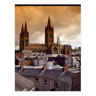 Cartão Postal Catedral de Truro, Cornualha, Inglaterra