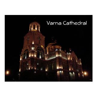 Cartão Postal Catedral de Varna