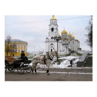 Cartão Postal Catedral do russo