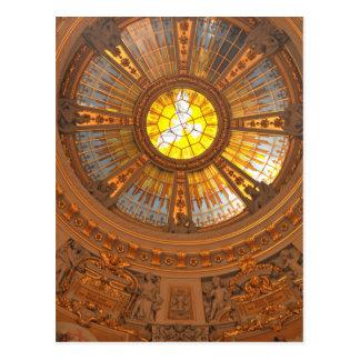 Cartão Postal Catedral interna de Berlim (os DOM do berlinês)
